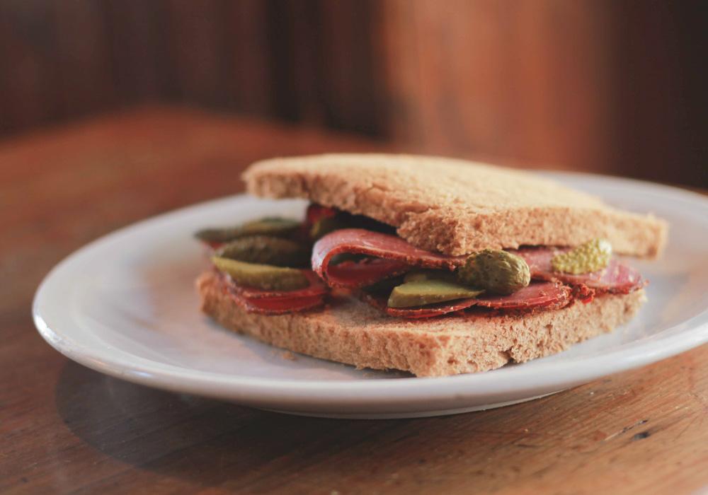 Sandwiches en Los Notables
